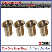 Weber 45 DCOE 26mm Long And 70mm OD Bellmouth Quality Set Of 4 From Webcon UK